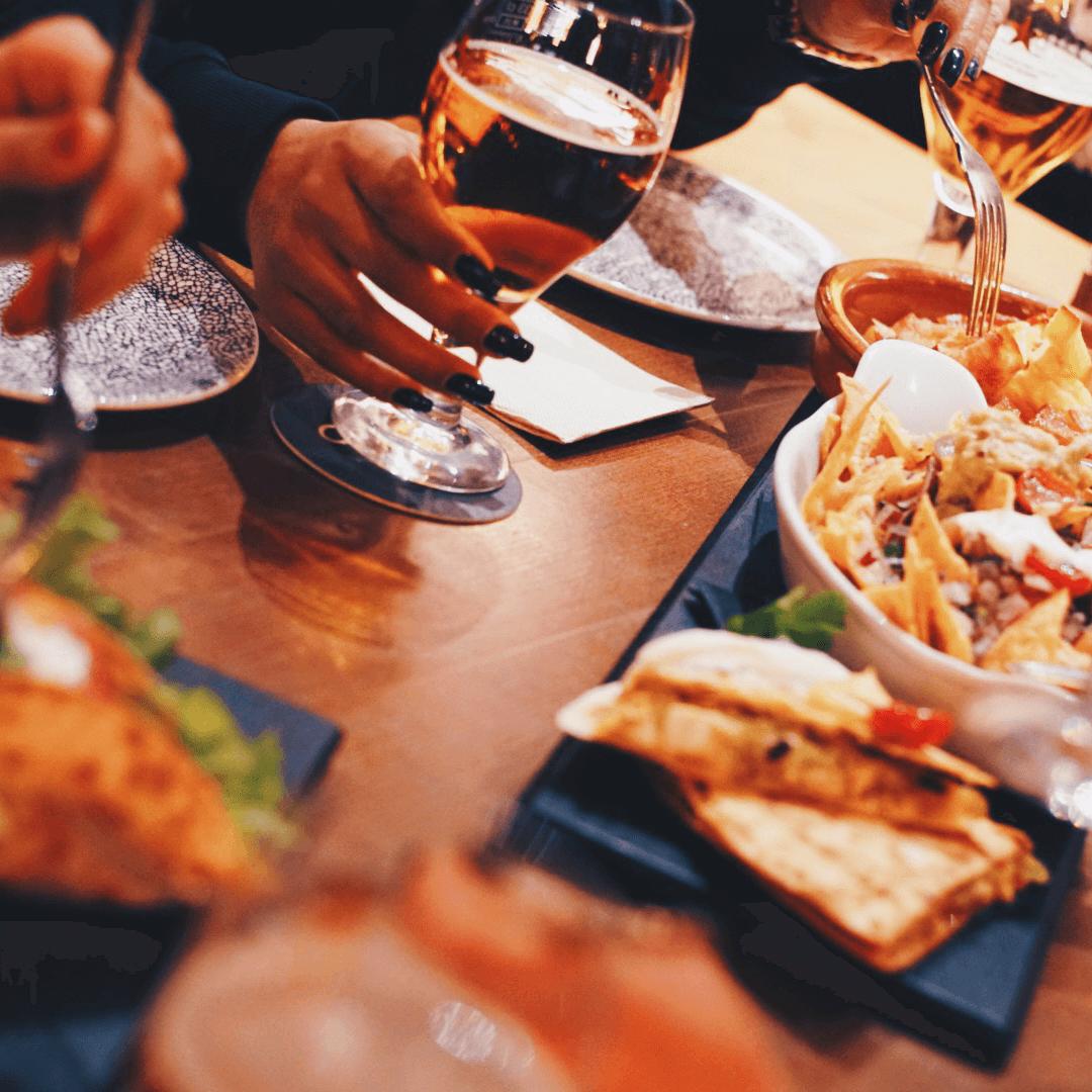 Comida para compartir en Alcudia