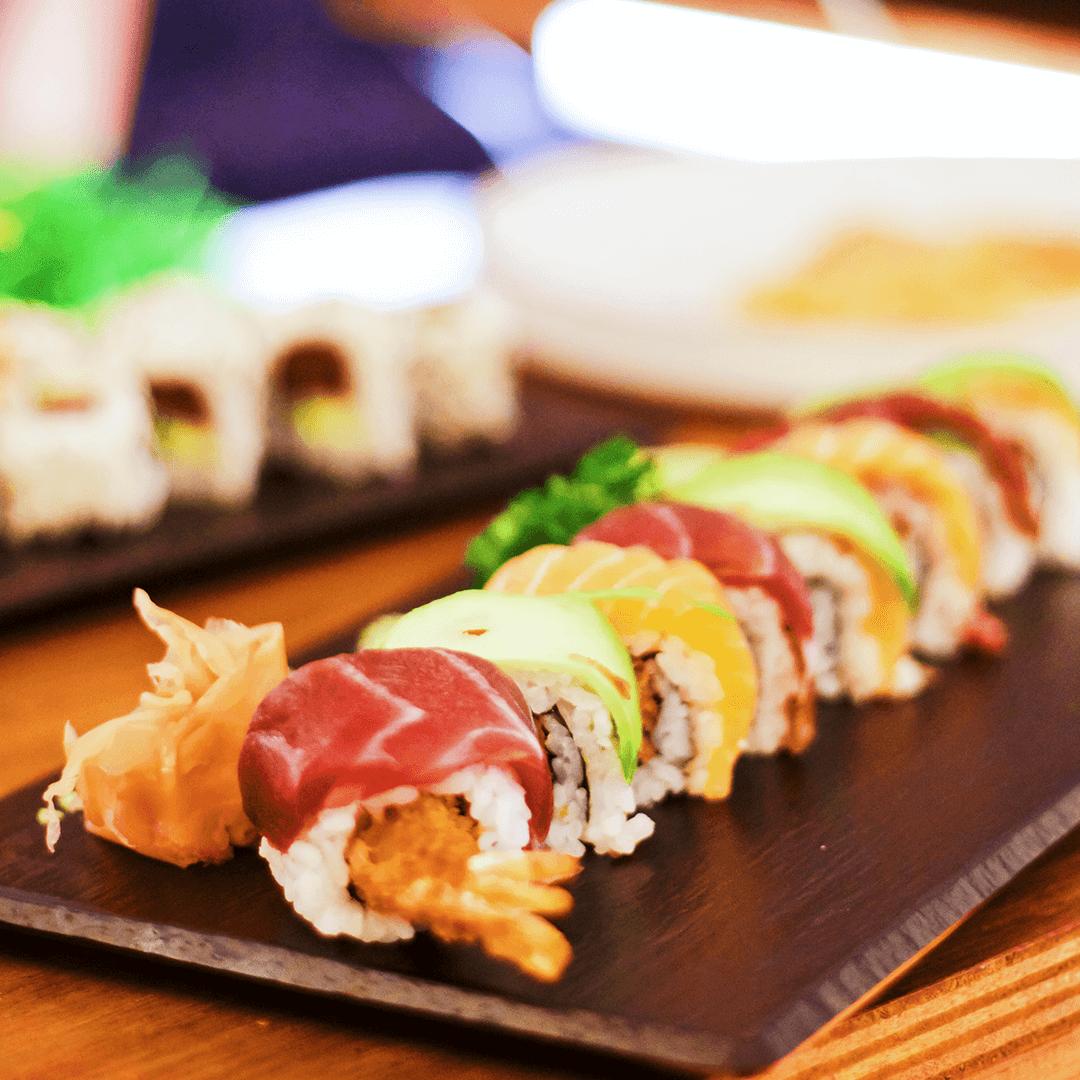 Reserva el mejor sushi para recoger en Alcudia.