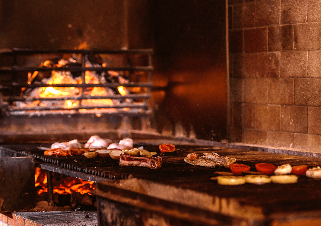 Carne a la brasa en Alcudia